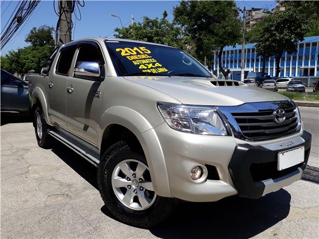 Toyota Of Plano >> Seminovos RJ: TOYOTA HILUX 2015 - 3.0 SRV TOP 4X4 CD 16V TURBO INTERCOOLER DIESEL 4P AUTOMÁTICO ...