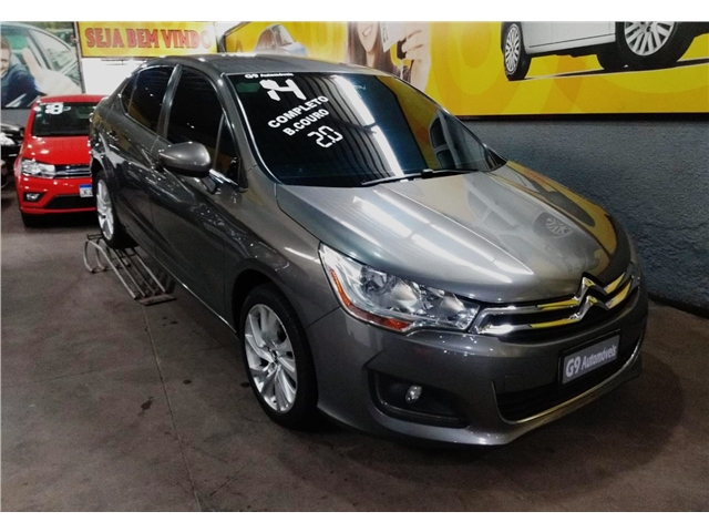 CITROEN C4 1.6 TENDANCE 16V FLEX 4P MANUAL