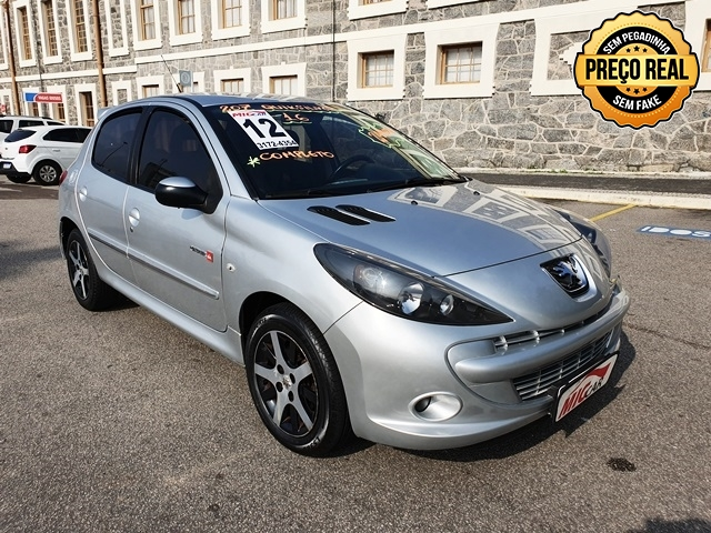 PEUGEOT 207 1.6 QUIKSILVER 16V FLEX 4P MANUAL
