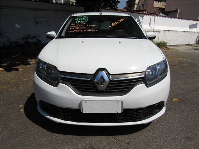 RENAULT SANDERO 1.6 EXPRESSION 8V FLEX 4P MANUAL