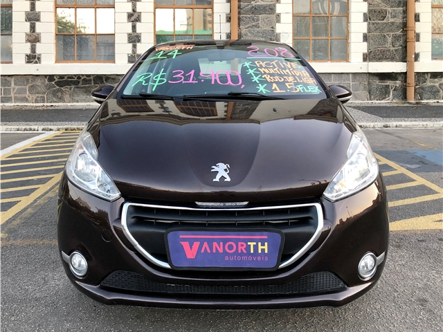 PEUGEOT 208 1.5 ACTIVE 8V FLEX 4P MANUAL