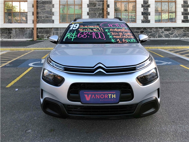 CITROEN C4 CACTUS 1.6 VTI 120 FLEX FEEL BUSINESS EAT6