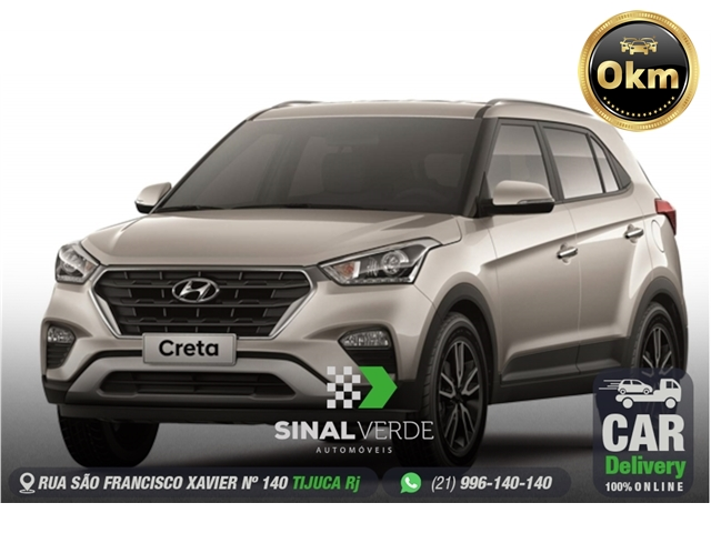 HYUNDAI CRETA 1.6 16V FLEX SMART PLUS AUTOMÁTICO