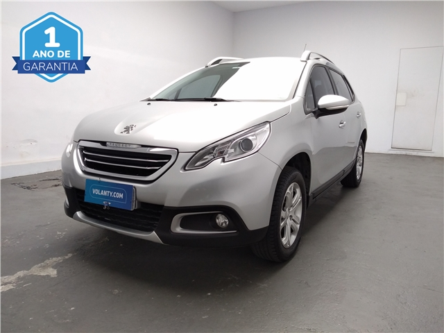 PEUGEOT 2008 1 6 16V FLEX ALLURE 4P MANUAL 2017