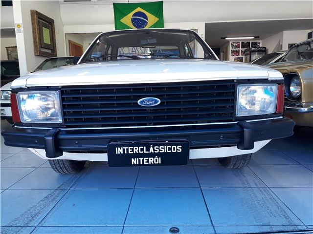 FORD CORCEL II 1.6 LUXO 8V GASOLINA 2P MANUAL
