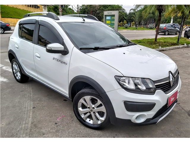 RENAULT SANDERO 1.6 16V SCE FLEX STEPWAY 4P MANUAL